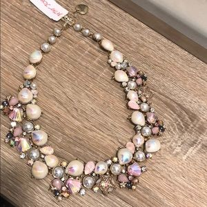 Betsey Johnson Crabby Couture Shell necklace
